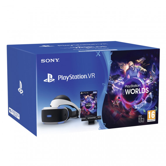 Sony Computer Entertainment Sony PlayStation VR 2 (PSVR 2) + PlayStation Caméra v2 + VR Worlds