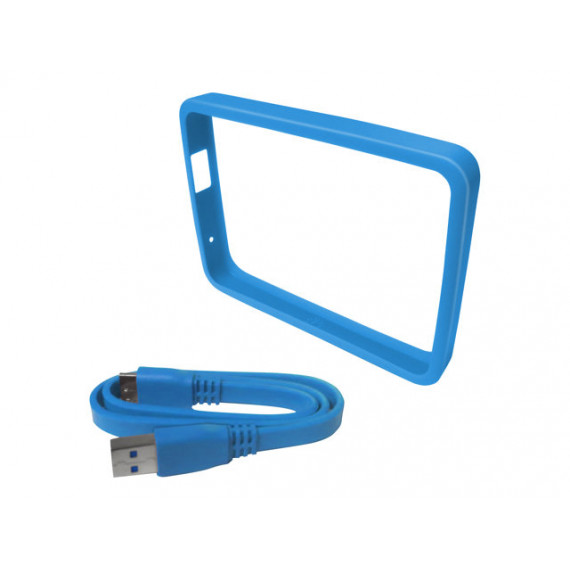 WESTERN DIGITAL PROTECTION GRIP PICASSO - Bleu