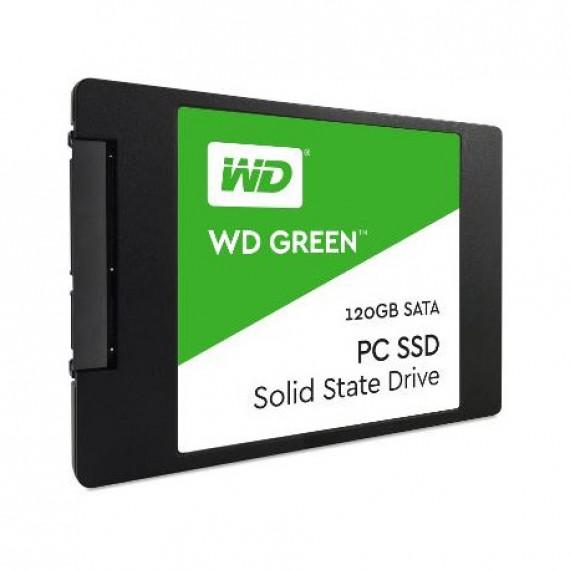 WESTERN DIGITAL Vert SSD de 2 5 pouces  SATA 6G - 120 Go