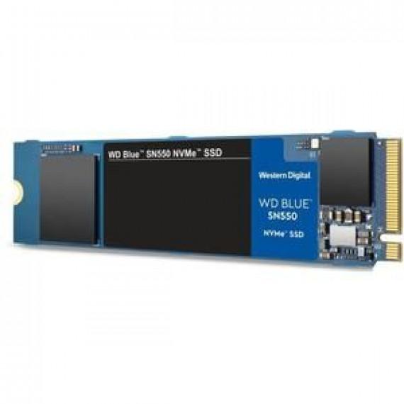 WESTERN DIGITAL WD Blue SSD SN550 NVMe 1To M.2 2280 WD Blue SSD SN550 NVMe 1To M.2 2280 PCIe Gen3 8Gb/s Bulk