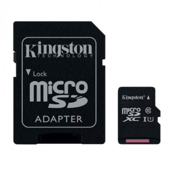 KINGSTON SDC10G2/128GB + adaptateur SD