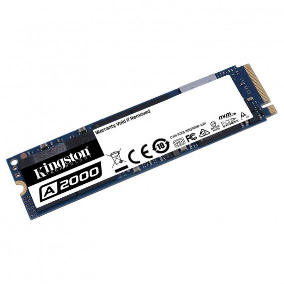 KINGSTON 500G SSDNOW A2000 M.2 2280 NVMe