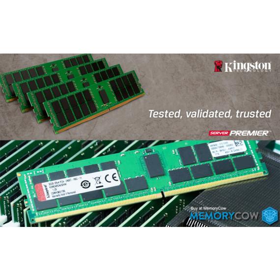 KINGSTON 16Go DDR4 3200MHz ECC SODIMM  16Go DDR4 3200MHz Single Rank ECC SODIMM