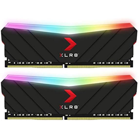 PNY MD16GK2D4320016XRGB RGB (2x8GB DDR4 3200 PC25600)
