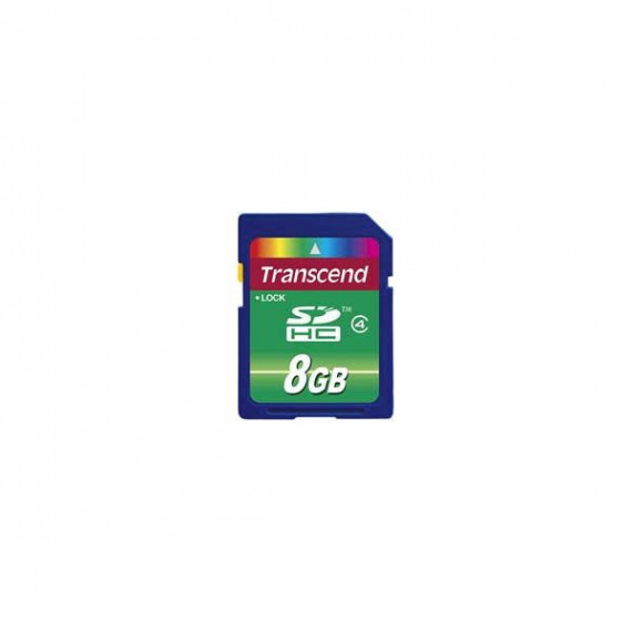 Carte Mémoire Transcend Secure Digital SDHC Card 8 GB Class 4