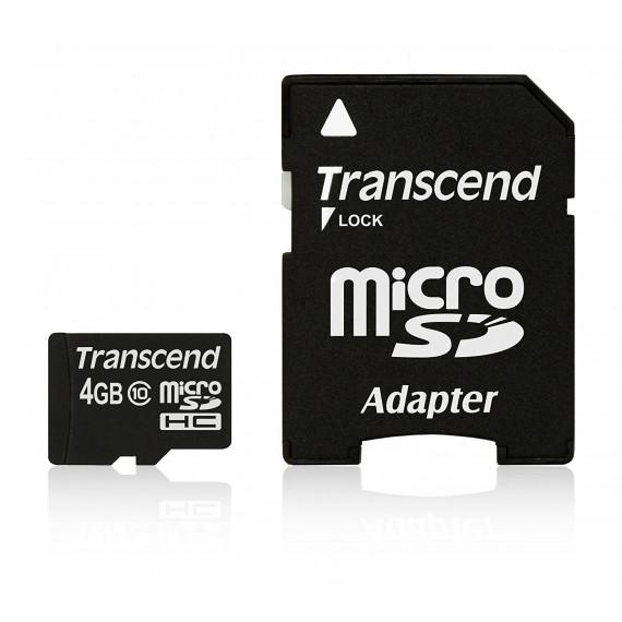 TRANSCEND microSDHC Card 4 GB