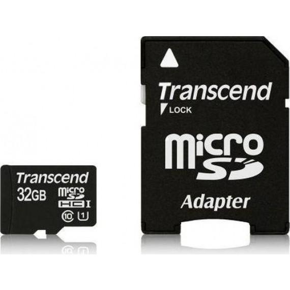 TRANSCEND microSDHC Card 32 GB Pre