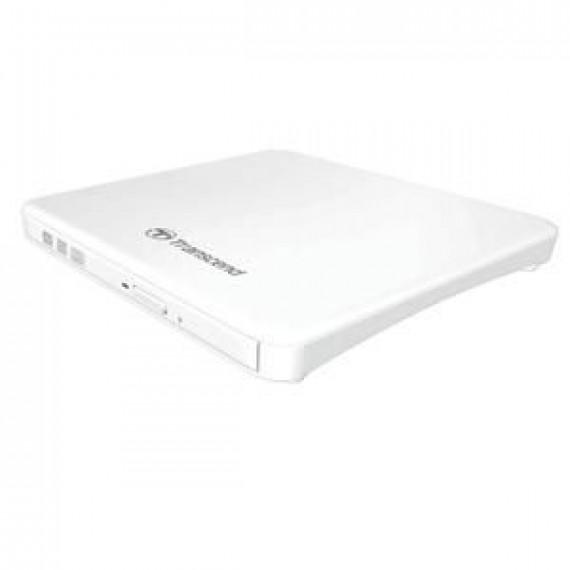 TRANSCEND 8X DVDSW Lecteur disque DVDñRW  8X DVDSW Lecteur de disque DVDñRW (ñR DL) / DVDRAM 8x/8x/5x USB 2.0 externe blanc