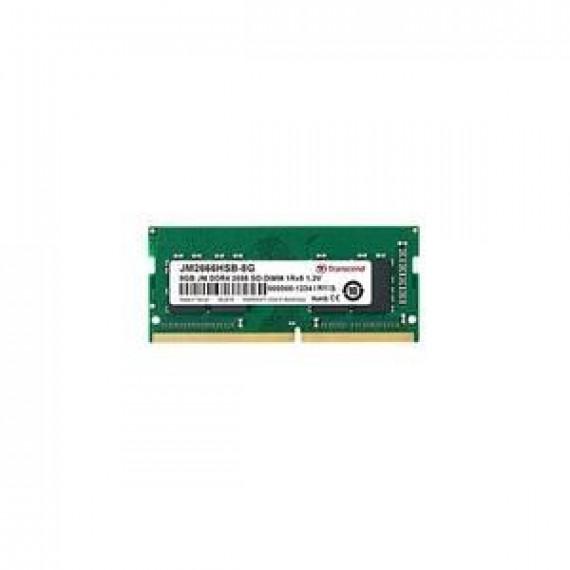 TRANSCEND 8GB JM DDR4 2666 SO-DIMM 1Rx8  8GB JM DDR4 2666 SO-DIMM 1Rx8 1Gx8 CL19 1.2V