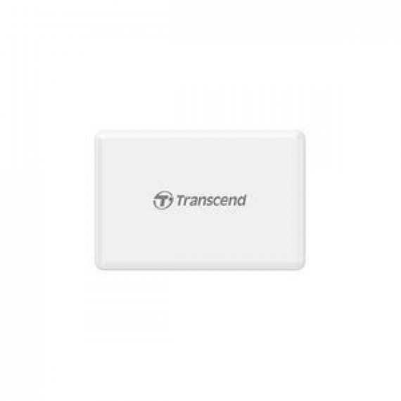 TRANSCEND Multi Memory Card Reader  All-in-1 Multi Memory Card Reader USB 3.0/3.1 Gen 1 White