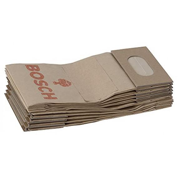 Bosch Professional Bosch 2605411068 Sac à poussières pour ponceuses à bande, ponceuses excentriques, ponceuses vibrantes & entailleuses-rainureuses 10 pièces