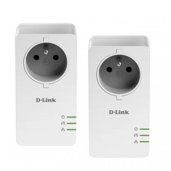 DLINK DHP-P601AV CPL Powerline AV2 1000Mbps avec prise de courant