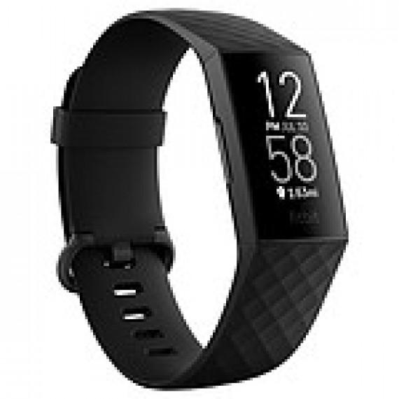 Fitbit Bracelet connecté  Charge 4 Noir