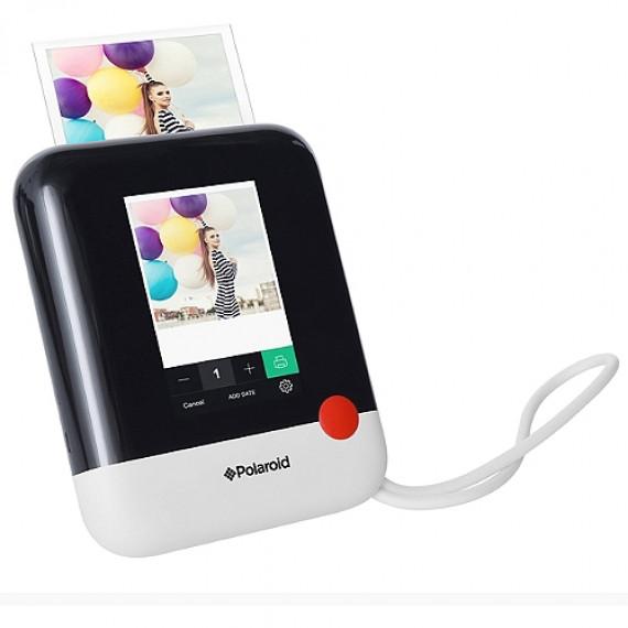 Polaroid Appareil photo compact instantané  Pop blanc/noir