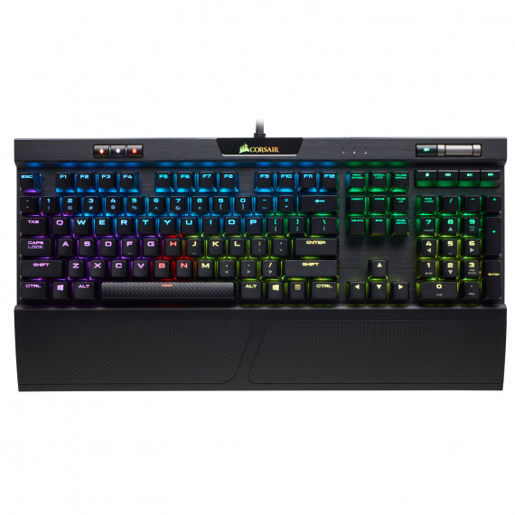 CORSAIR Gaming K70 RGB MK.2 LEDs AZERTY Noir