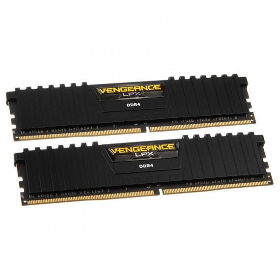 CORSAIR Vengeance LPX Series Low Profile 16 Go (2x 8 Go) DDR4 2666 MHz CL16 Noir