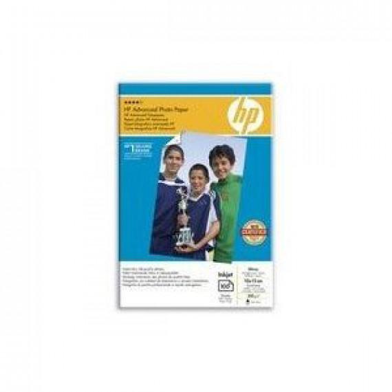 HP Q8692A - Papier Photo Advanced 10x15 cm, papier glacé (100 feuilles)