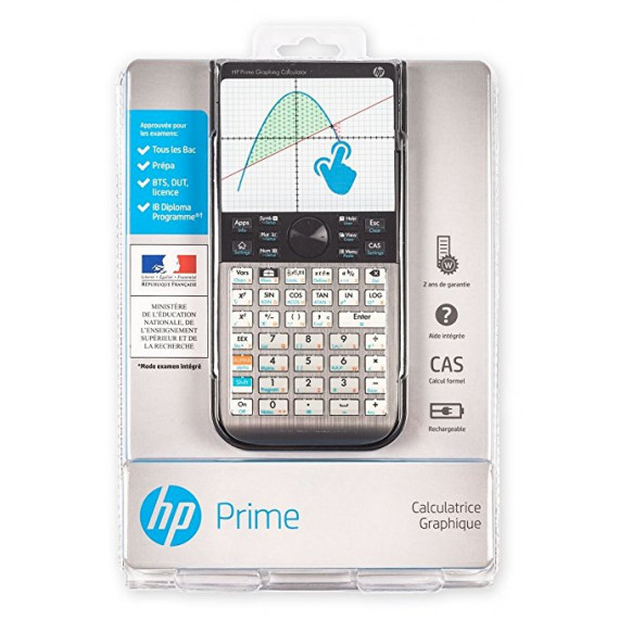 HP Prime - Calculatrice à écran tactile multitouch