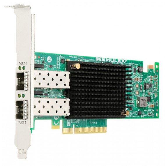 LENOVO Emulex VFA5.2 2x10 GbE SFP+ PCIe Emulex VFA5.2 2x10 GbE SFP+ PCIe Adaptateur