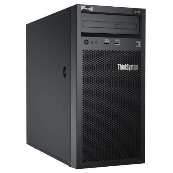 LENOVO DCG ThinkSystem ST50 E-2224G  DCG ThinkSystem ST50 Xeon E-2224G 4C 3.5GHz 8MB Cache/71W SW RAID 8GB 2x1TB SATA 250W Slim DVD-RW 3 year