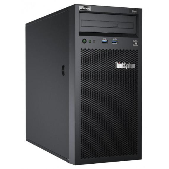 LENOVO DCG ThinkSystem ST50 E-2226G  DCG ThinkSystem ST50 Xeon E-2226G 6C 3.4GHz 80W 16GB 480GB SW RAID 2xS4510 250W