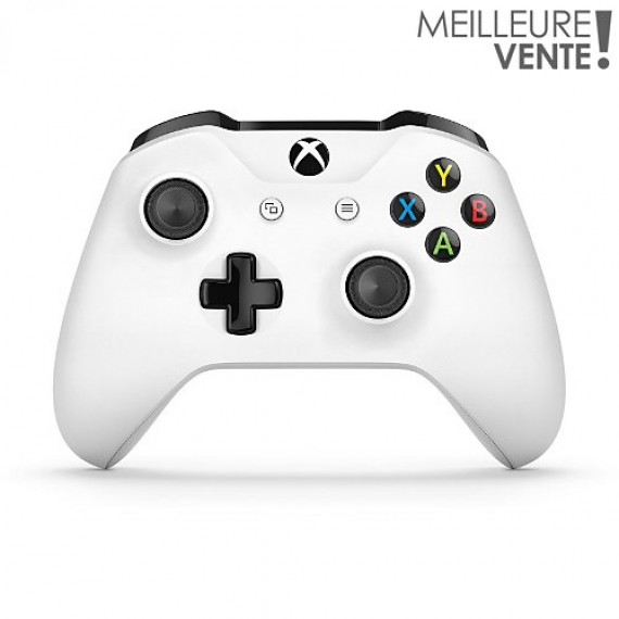 Microsoft Xbox One Wireless Controller - Blanc