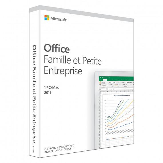 Microsoft Office Famille et Petite Entreprise 2019 (Europe)