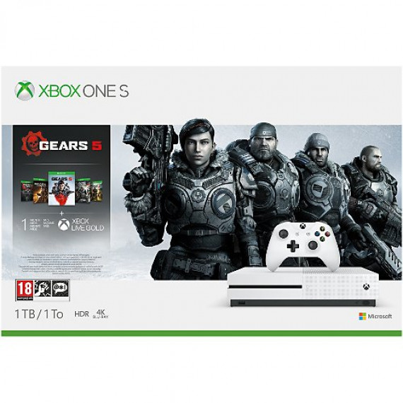 Microsoft Console Xbox One S  1To Gears5