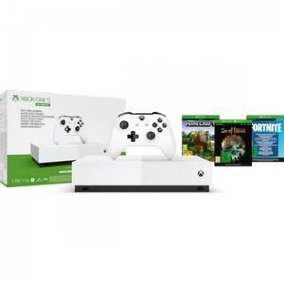 Microsoft Console Xbox One S  Xbox One S 1To All Digital V2