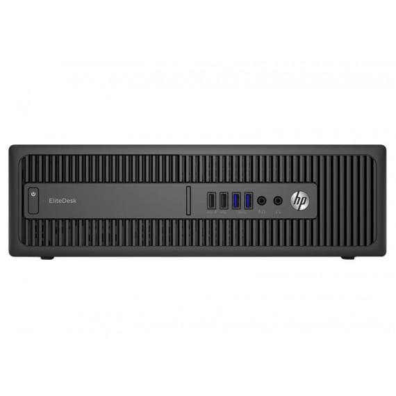 HP EliteDesk 800 G2 - Mini bureau - 1 x Core i5 6500 / 3.2 GHz - RAM 8 Go - lecteur hybride 1 To (8 Go) - HD Graphics 530 - GigE - LAN sans fil: 802.11a/b/g/n, Bluetooth 4.0 - Win 7 Pro 64 bits (comprend Licence Windows 10 Pro 64 bits) - technologie Intel