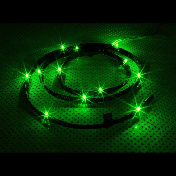 NZXT CB-LED10-GR 12x LED verte manches - 1m