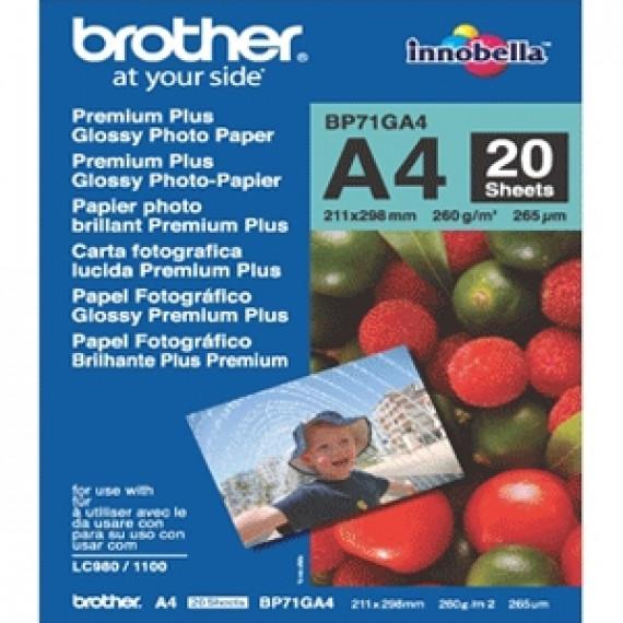 BROTHER Papier Photo   BP71GA4