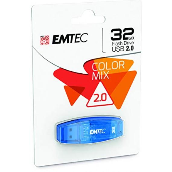 EMTEC USB 2.0 Color Mix C 410 32 GB