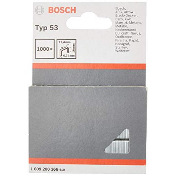 Bosch Professional Bosch 1609200366 Agrafes 10 / 11,4 mm 1000 pièces Type 5