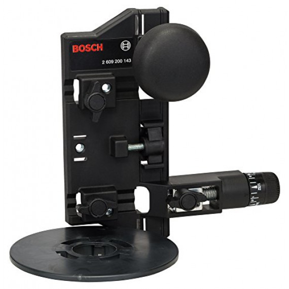 Bosch Professional Bosch 2609200143 Compas de fraisage avec adaptateur pour rail de guidage