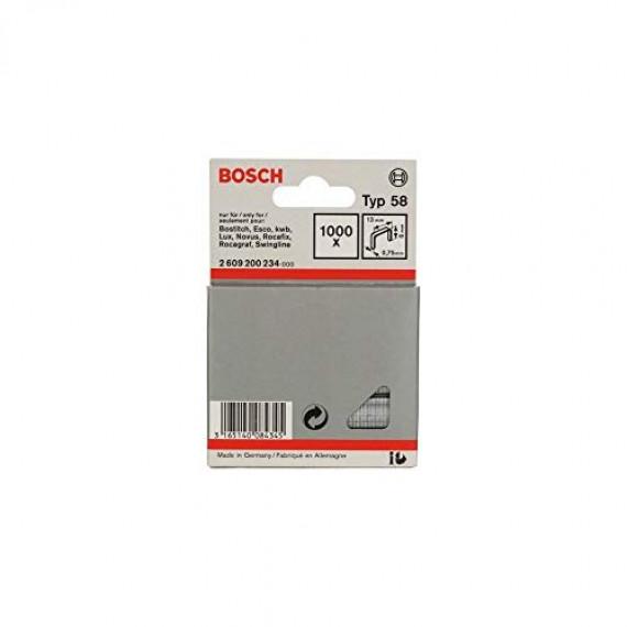 Bosch Professional Bosch 2609200234 Agrafe à fil fin de type 58 13 x 0,75 x 6 mm
