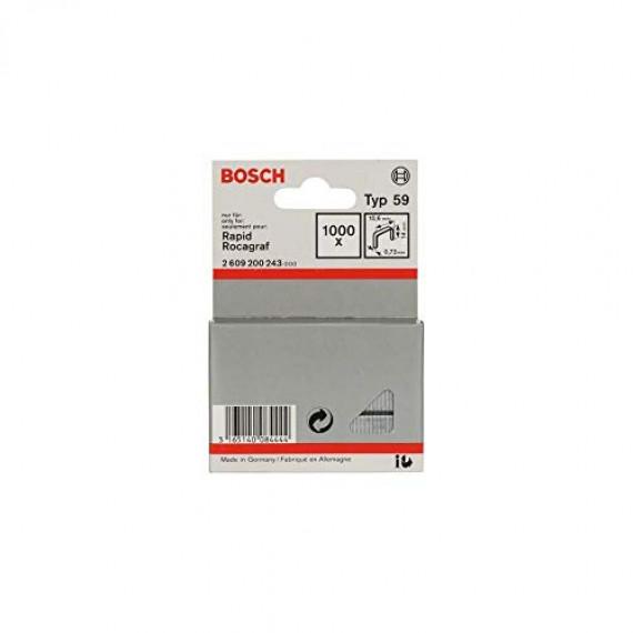 Bosch Professional Bosch 2609200243 Agrafes 14 / 10,6 mm 1000 pièces Type 59