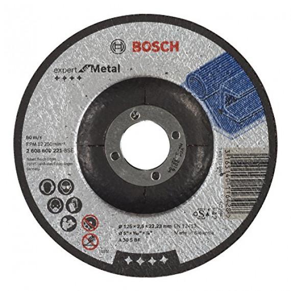 Bosch Professional Bosch 2608600221 Disque à Tronçonner à moyeu déporté expert for metal A 30 S BF 125 mm 2,5 mm