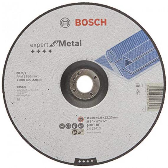 Bosch Professional 2608600228 Meule, Grey, 230 mm 6,0 mm