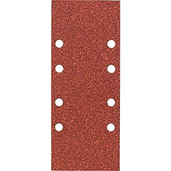 Bosch Professional Disque Abrasif pour Ponceuses Orbitales, 8 Trous, 60 Grain, 93mm x 230mm, Lot de 10