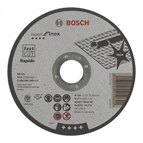 Bosch Expert for Inox 125 x 1 mm