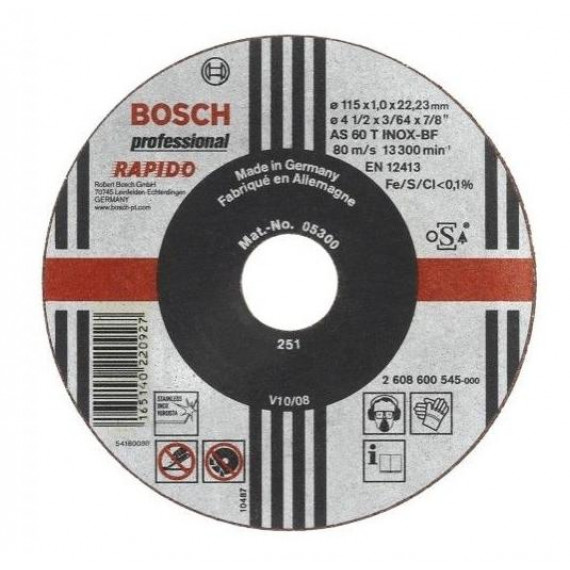 Bosch Expert for Inox 115 x 1 mm