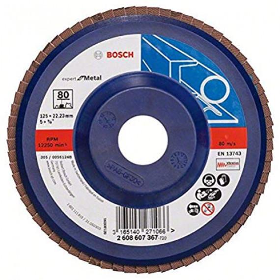 Bosch Professional X551 Plateau à Lamelle, Bleu, 125.0