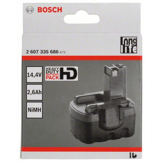 Bosch 14,4V 2,6 Ah NiMH