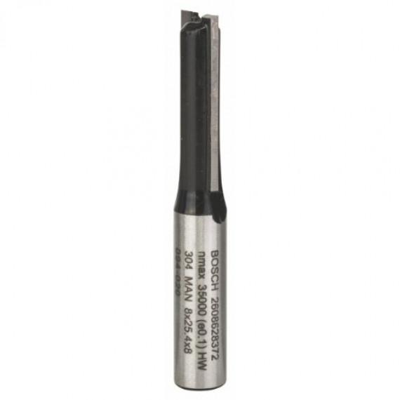 Bosch Professional Bosch 2 608 628 372 Fraise 8 mm 8 x 25,4 x 56 mm