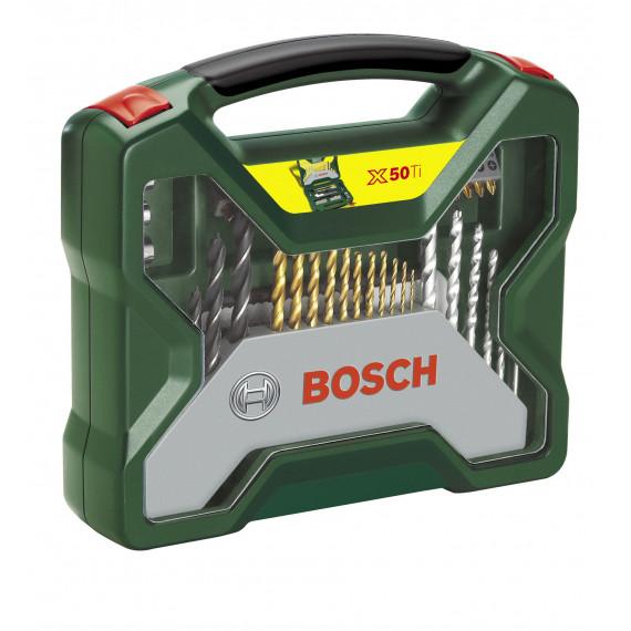 Embout de vissage Bosch Titanium Set 50 pièce