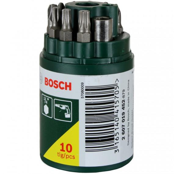 Embout de vissage Bosch 10 pièces