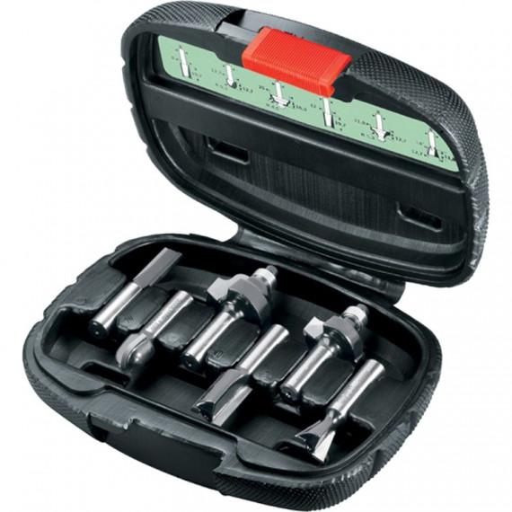 Bosch piècees HM-Fräser-Set (8mm-Schaft)