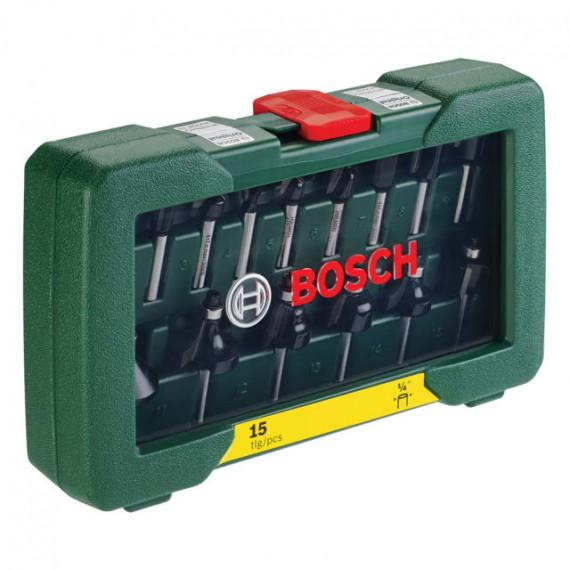 """Fraise Bosch pièceses HM-Fräser-Set (1/4"""" Schaft)"""