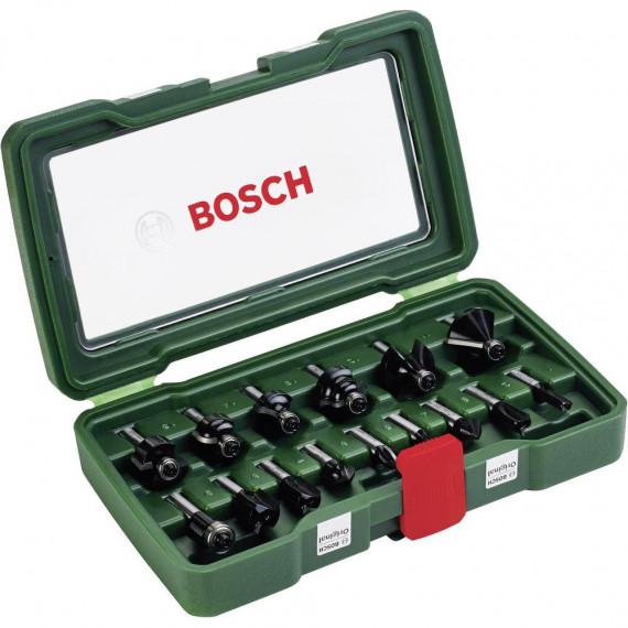 Bosch pièceses HM-Fräser-Set (8 mm Schaft)